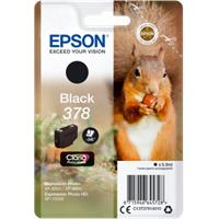 Epson Singlepack Black 378 Claria Photo HD Ink